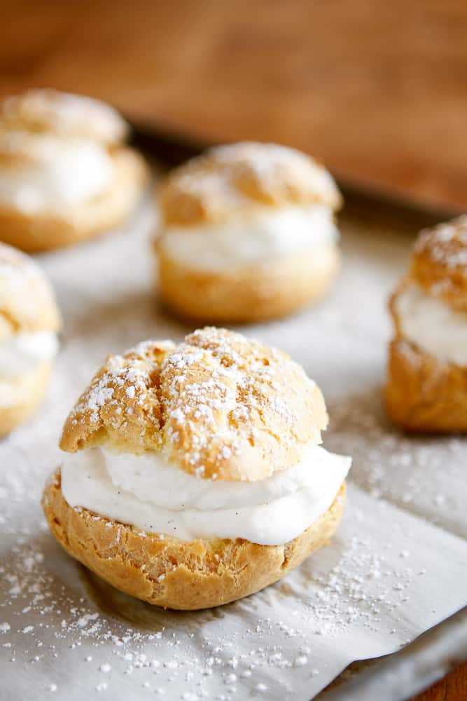 Easy cream puff recipes