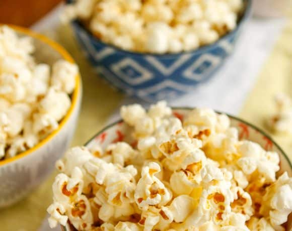 Better Than Movie Theater Homemade Popcorn