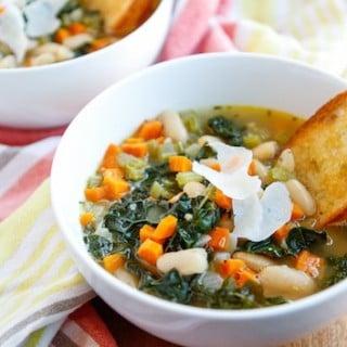 Creamy Tuscan White Bean Soup