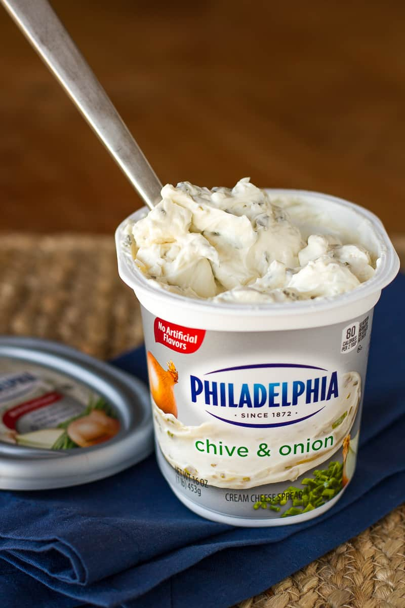 Jalapeño Popper Dip | Philadelphia Chive & Onion Cream Cheese