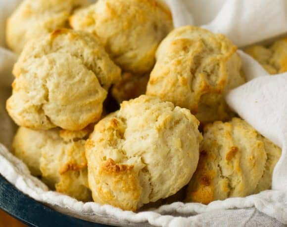 Foolproof 2-Ingredient 15-Minute Cream Biscuits Recipe