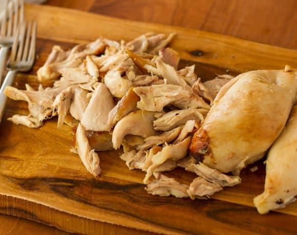 How To Shred A Rotisserie Chicken | Easy BBQ Shredded Chicken Sliders