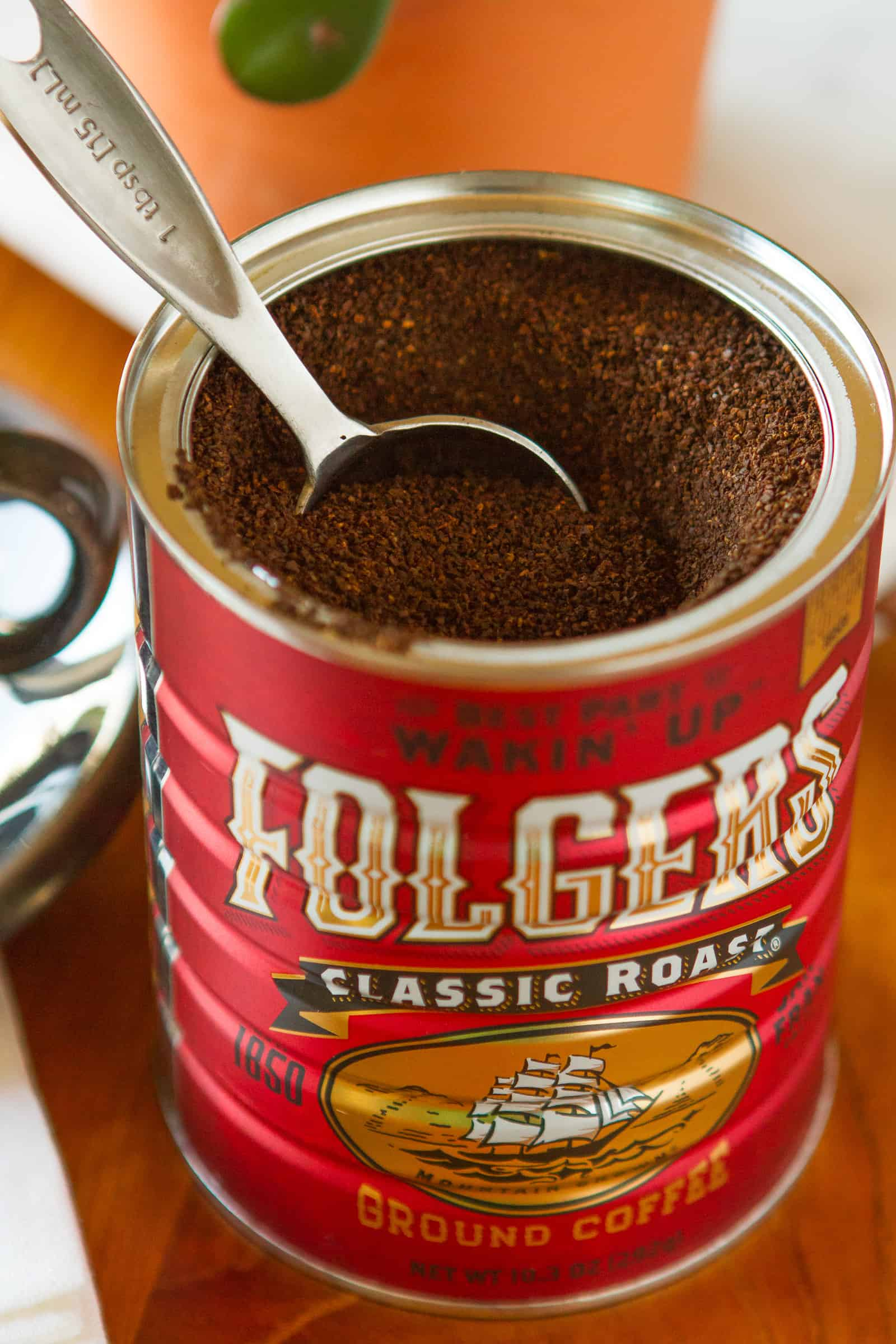 Folgers Limited Edition Collector's Can