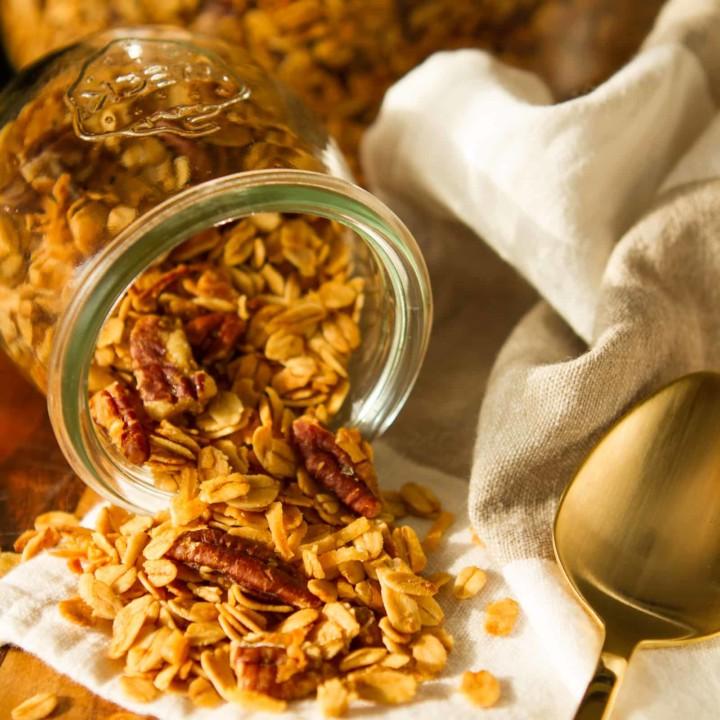 Buttery Honey-Pecan Coconut Granola