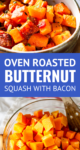 roasted butternut squash recipe with bacon and thyme