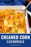 creamed corn casserole just like my grandma made it