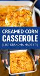 corn casserole the way grandma made it