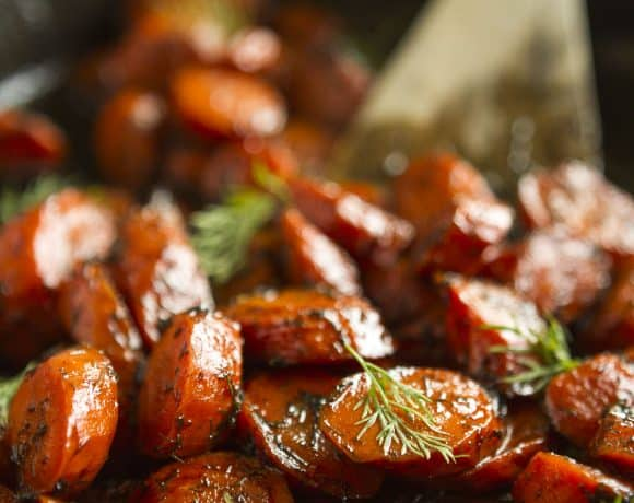 Roasted Carrots Recipe | Brown Butter Honey Roasted Carrots With Dill