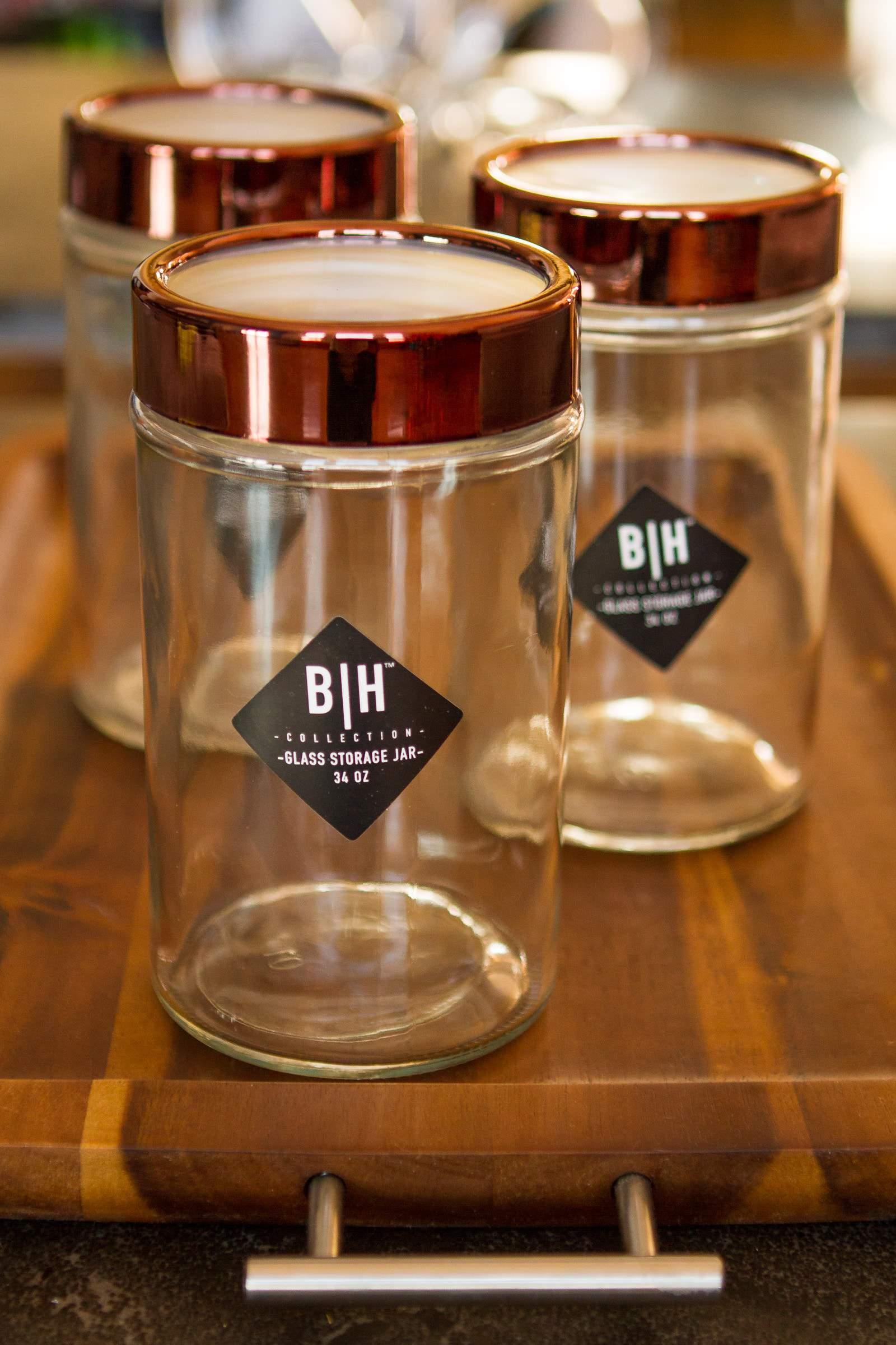 Layered Hot Chocolate Jar Gift