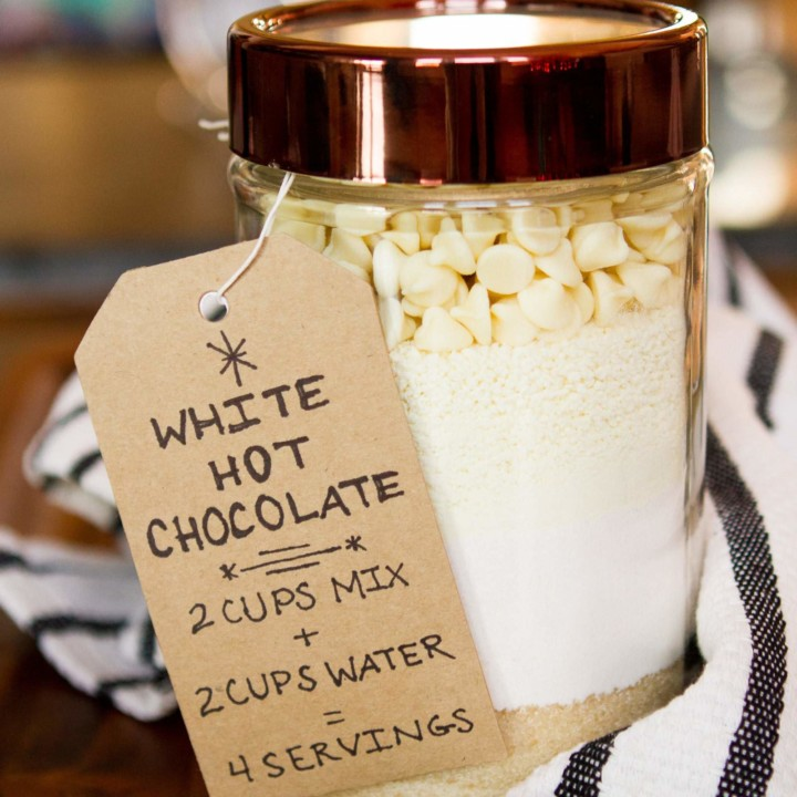 Decadent White Hot Chocolate Mix