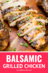 quick and easy balsamic chicken marinade