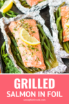 grilling salmon is simple with this easy salmon on the grill recipe