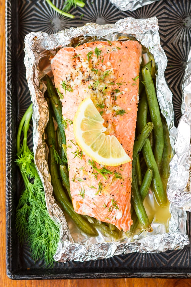 grilling salmon in tin foil is a simple and easy method for cooking salmon on the grill