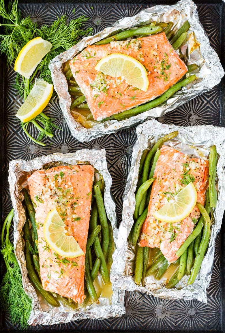 cooking salmon on the grill foil is perfect for weeknight dinners or for a summer cookout