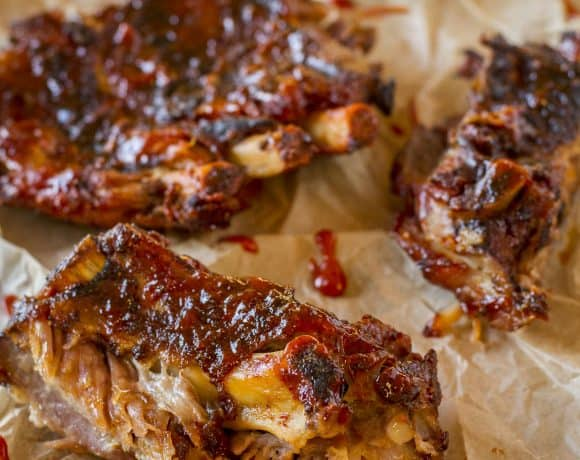 Sticky Slow Cooker to Grill Baby Back Ribs | End of Summer Hoorah!