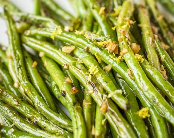 Sautéed Green Beans with Garlic | The Haven's Kitchen Cooking School Giveaway