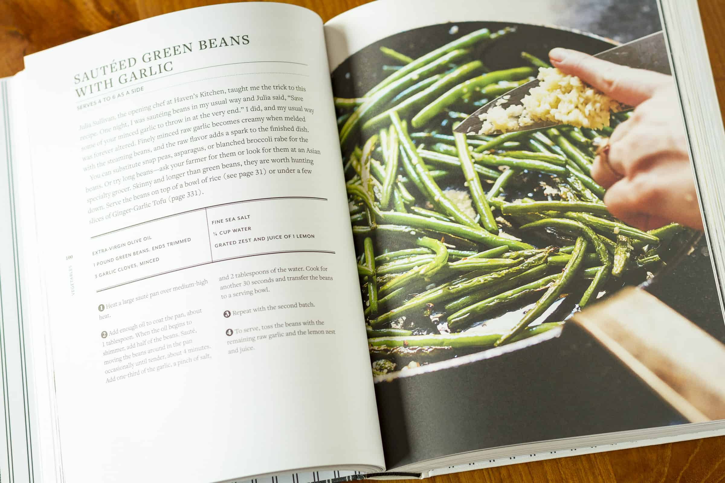 how to cook extra fine green beans