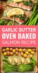 oven baked salmon recipe with asparagus and potatoes