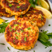15-Minute Crispy Fried Tuna Patties