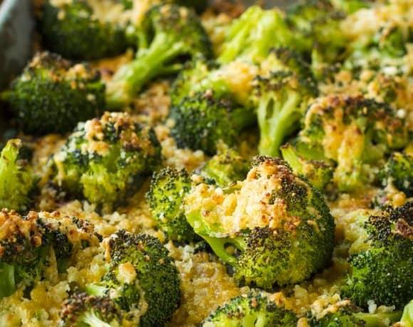 20-Minute Crispy Cheesy Broccoli Gratin