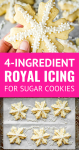 easy royal icing recipe for sugar cookies without meringue powder