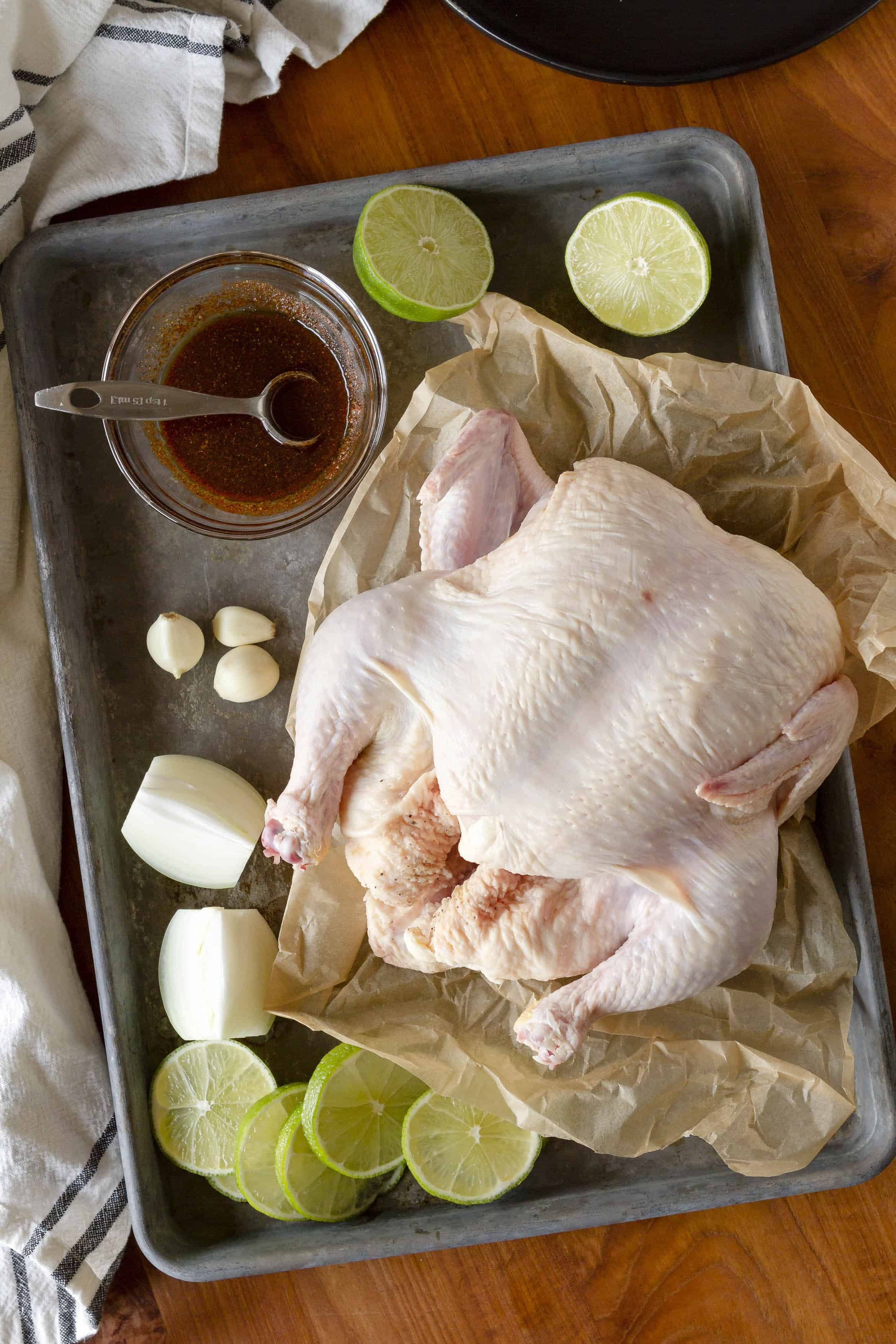 Instant Pot Beer Can Chicken Ingredients