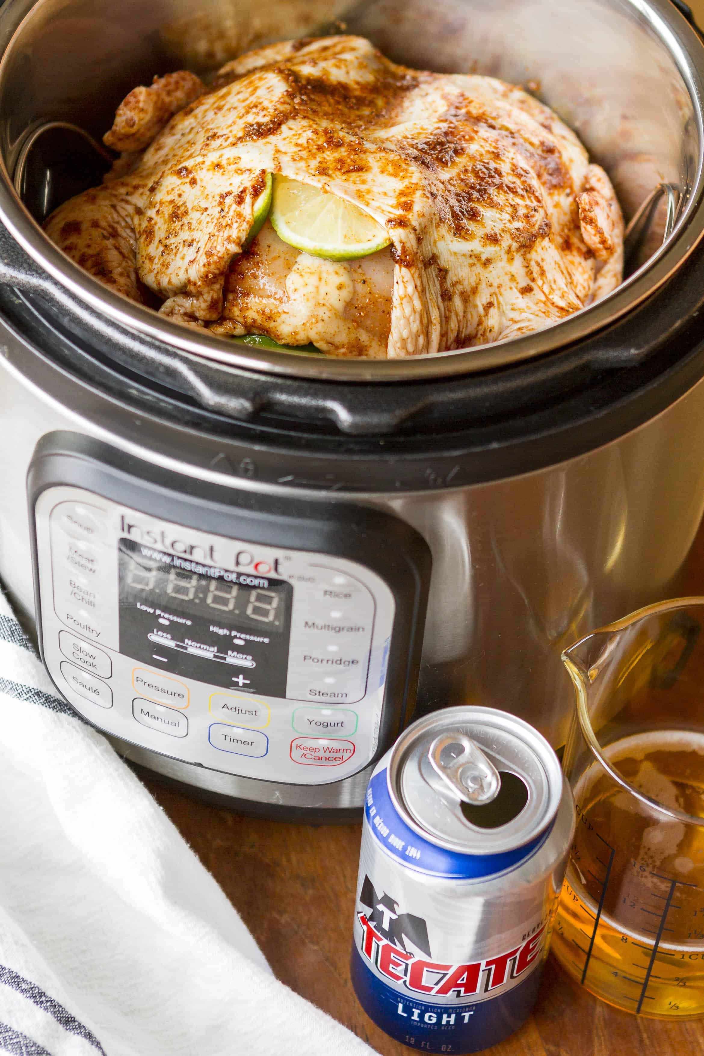 Instant Pot Beer Can Chicken Pressure Cooker