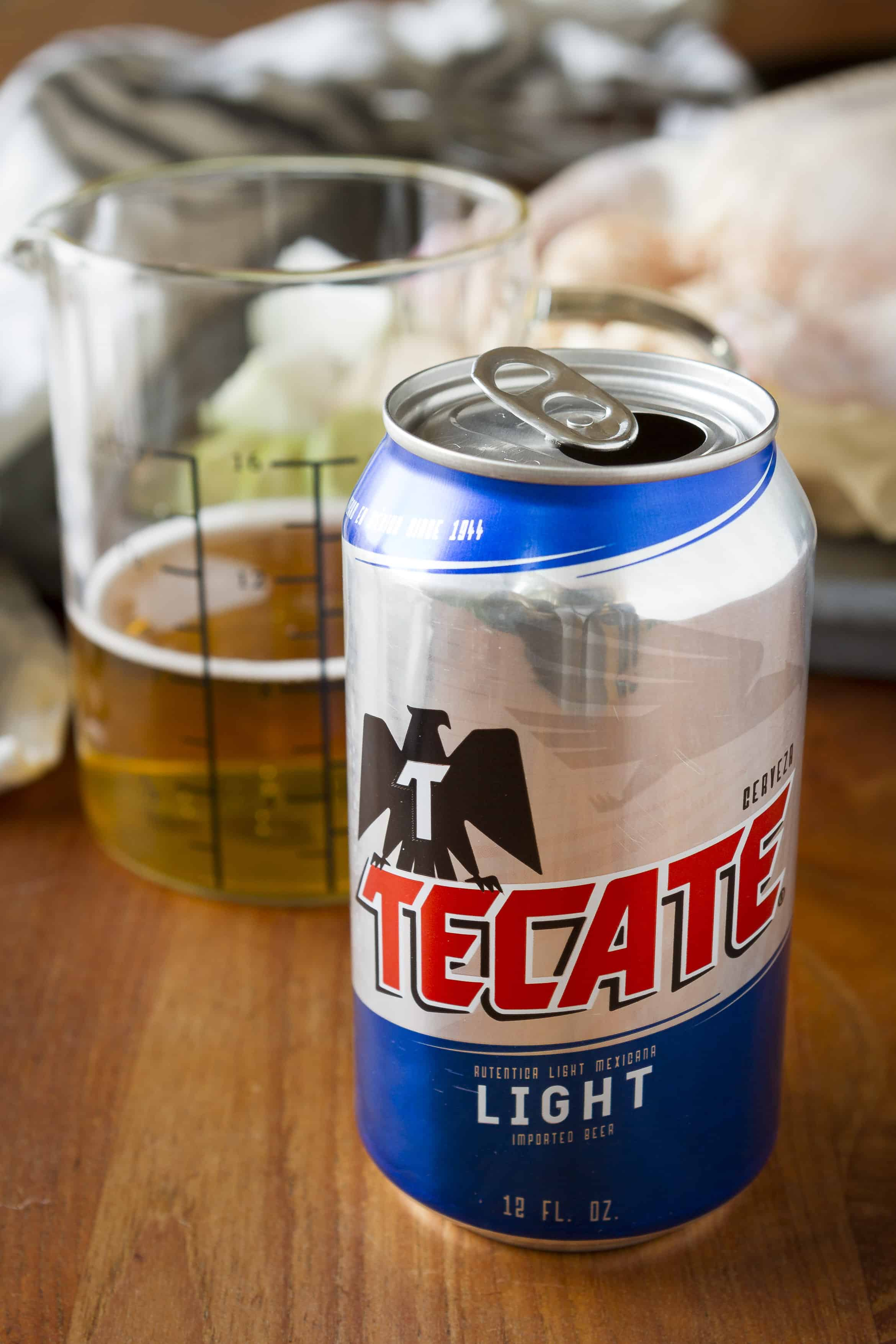 Instant Pot Beer Can Chicken Tecate Light
