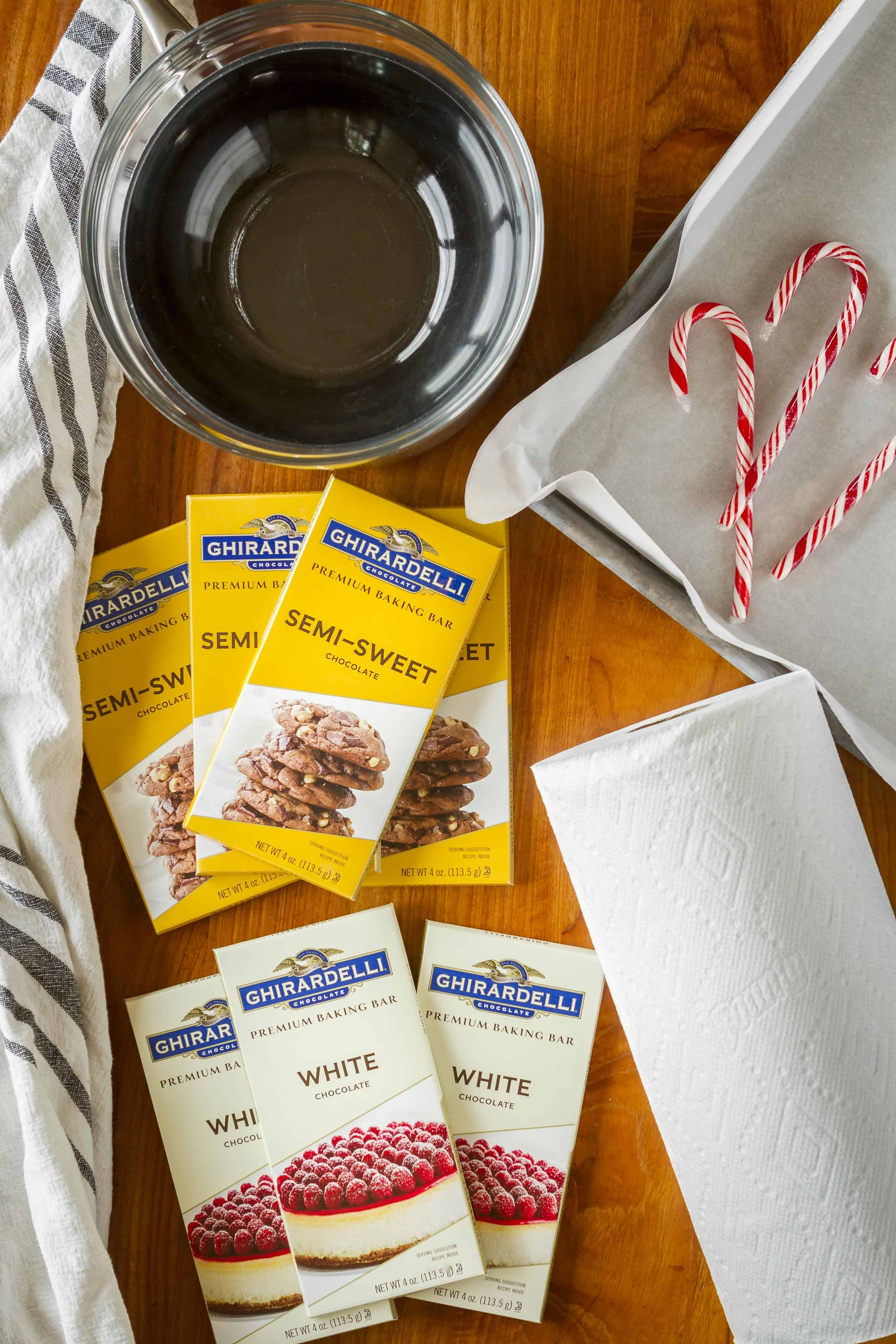 Peppermint Bark Recipe Ingredients