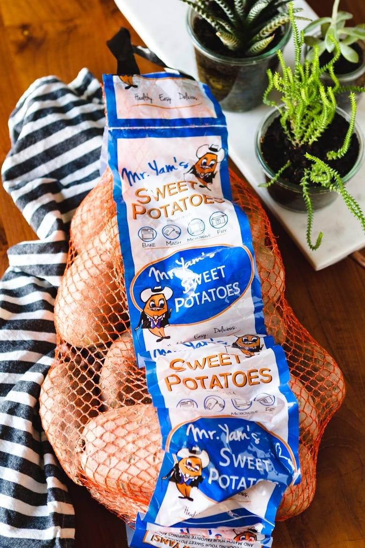 perfect sweet potato using a costco sweet potato