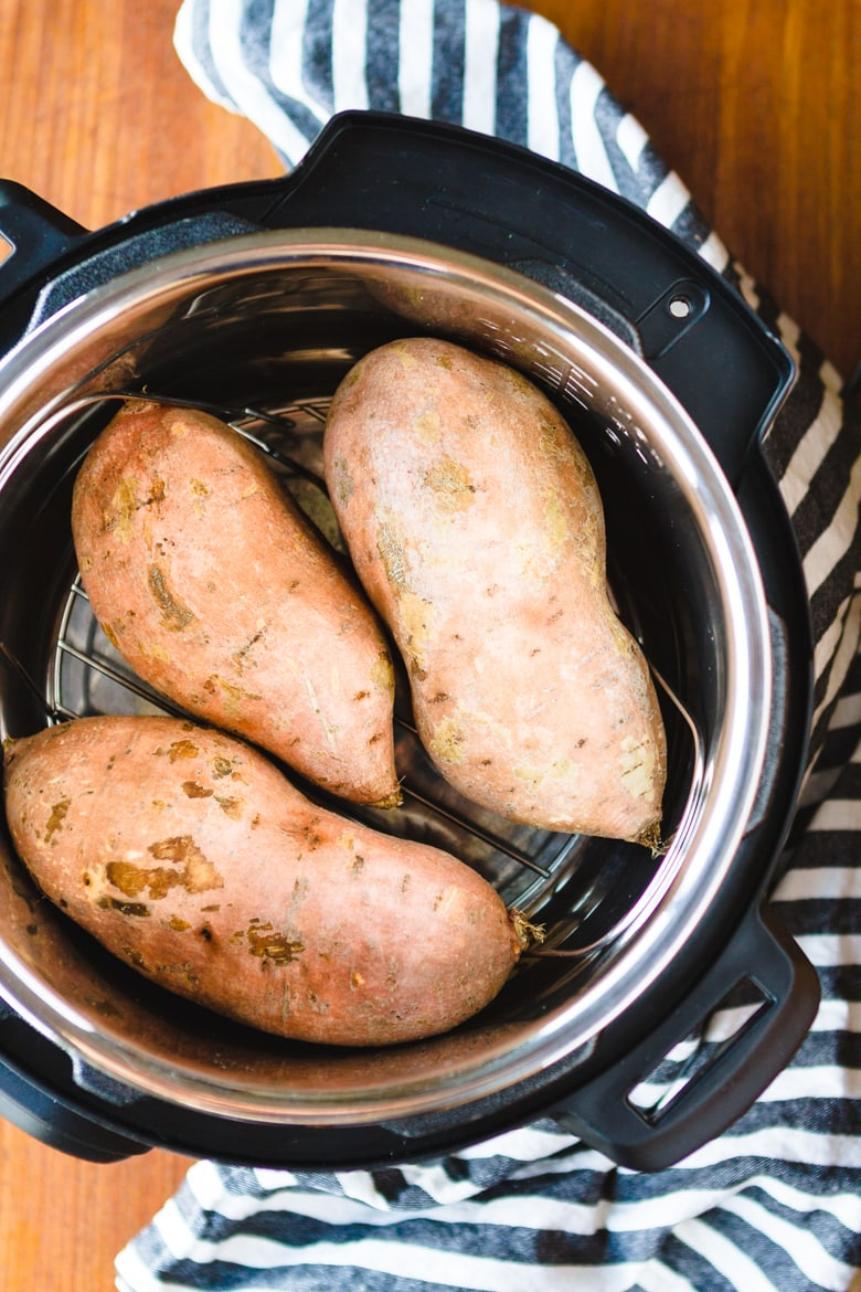 sweet potato instant pot how to