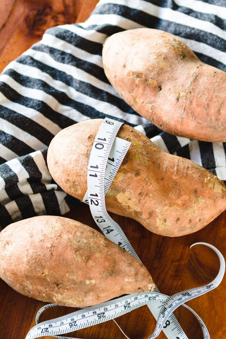 the secret to making perfect sweet potatoes in the instant pot