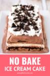 no bake easy ice cream cake