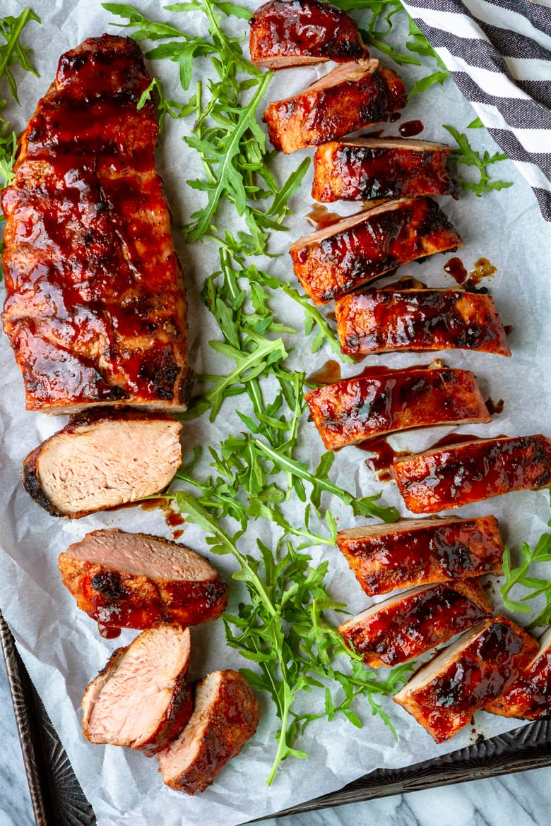 easy weeknight grilled pork tenderloin