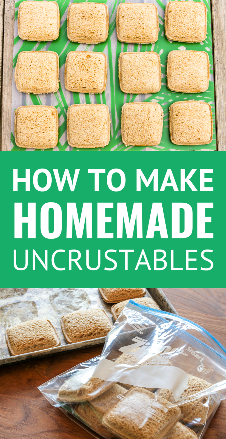 DIY Uncrustables Sandwiches -- make these perfectly portable frozen PB&J sandwiches part of your weekly meal prep day... And YOU control the quality of the ingredients. Great for road trips, vacation, as well as packed lunches! | uncrustables recipes | homemade uncrustables | uncrustables lunch ideas | how to make uncrustables | suckers uncrustables #freezermeals #freezerfriendly #freezercooking #homemade #mealprep #mealprepideas #mealpreps #sandwiches #lunchideas #lunchboxideas #lunchrecipes
