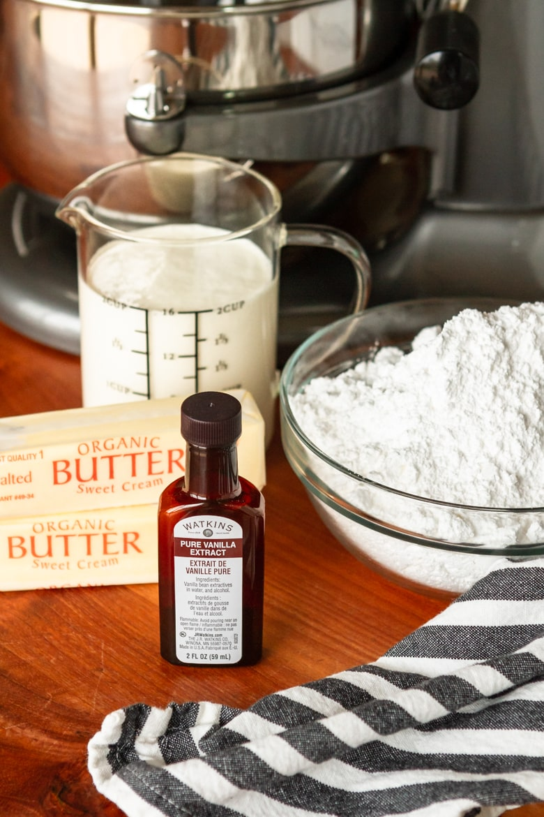 whipped buttercream frosting ingredients