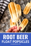 how to make root beer float popsicles