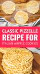 pizzelle recipe for italian waffle cookies