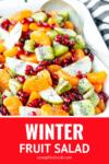 winter fruit salad recipe with honey lemon poppy seed dressing