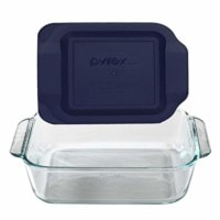 "Pyrex 8"" Square Baking Dish with Lid"