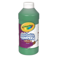 Crayola Green  Washable Tempera Paint