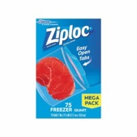 Ziploc Quart Size Freezer Bags