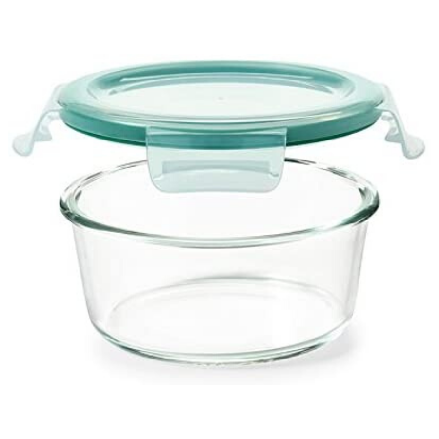 OXO 7-Cup Glass Round Food Storage Container