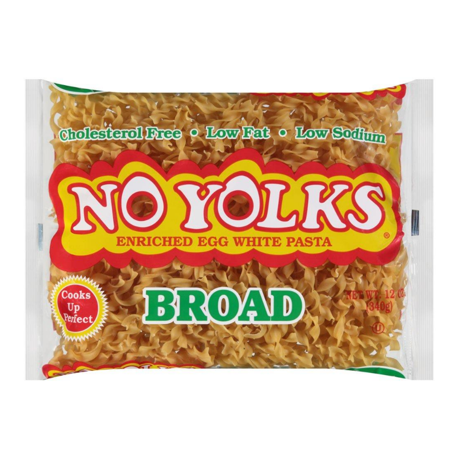 No Yolks Broad Egg Noodles