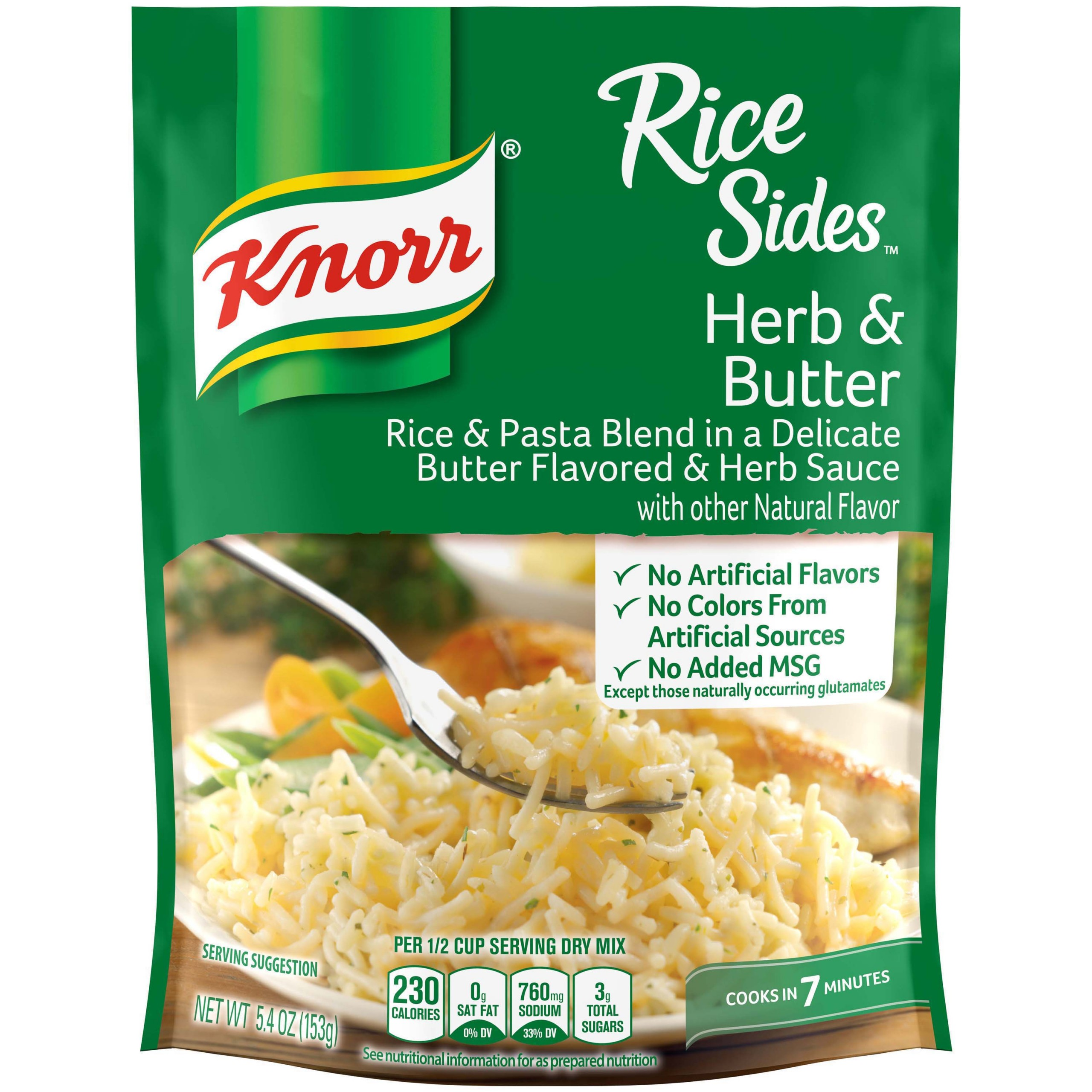 Knorr Rice Sides Herb & Butter