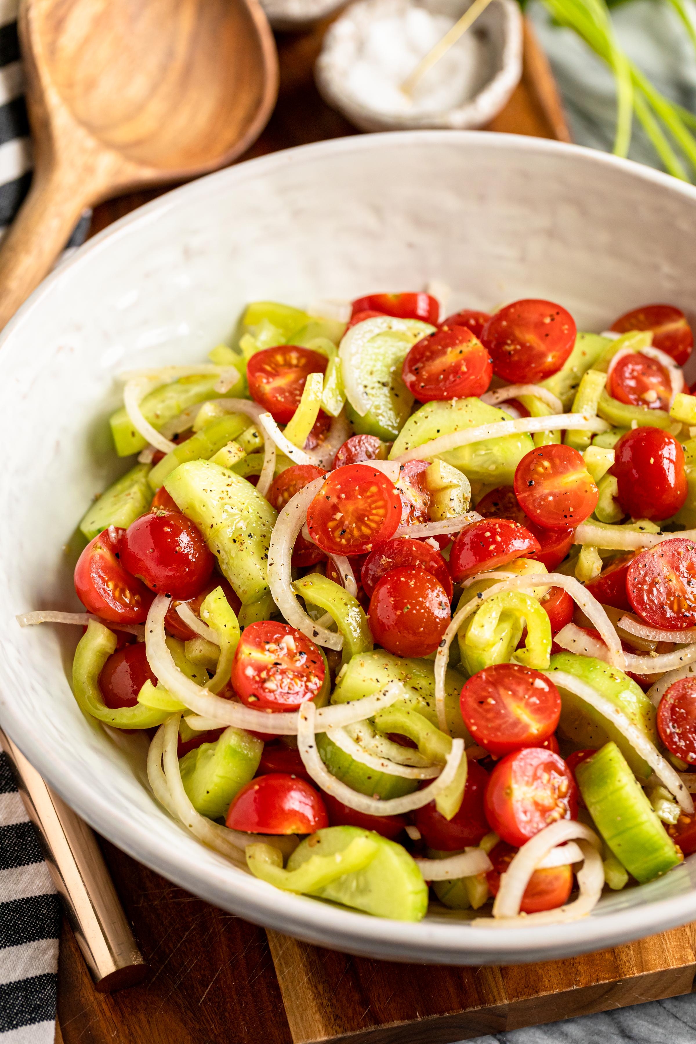 19+ Hungarian Marinated Tomato Salad Paradicsomsaláta – Unsophisticook Fotografie